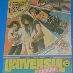 UNIVERSUL COPIILOR -1990 NR33-34- BENZI DESENATE valentin tanase, puiu manu - Reviste benzi desenate