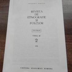 ISTORIA FOLCLORULUI, FOLCLORISTICII, ETNOGRAFIEI IN PERSPECTIVA lui 2000 extras - Carte folclor
