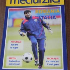 Program fotbal MECIUL ZILEI NR 3 - ROMANIA - ITALIA 13 IUNIE 2008 - Program meci