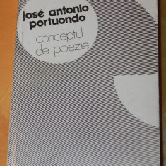 JOSE ANTONIO PORTUONDO - CONCEPTUL DE POEZIE