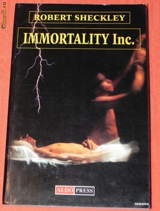 ROBERT SHECKLEY - IMMORTALITY INC. (7575767 foto mare