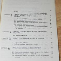 ALEXANDRU SCHIOP - METODE NUMERICE PENTRU REZOLVAREA ECUATIILOR DIFERENTIALE - Culegere Matematica
