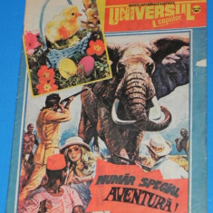 UNIVERSUL COPIILOR -1991 - 13-14 BENZI DESENATE MAXIM ARO - Reviste benzi desenate