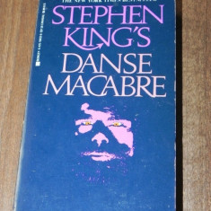 STEPHEN KING - DANSE MACABRE. CARTE IN LIMBA ENGLEZA - Carte Horror