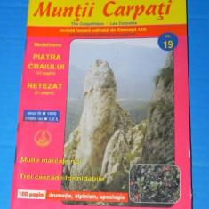 REVISTA MUNTII CARPATI - NR 19 / 1999 (0564 - Carte Geografie