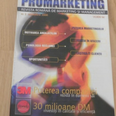 Revista PROMARKETING. REVISTA ROMANA DE MARKETING SI MANAGEMENT