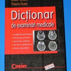 DIDIER SICARD, THIERRY GUEZ - DICTIONAR DE EXAMINARI MEDICALE (00690