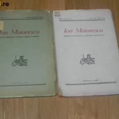 2 REVISTE ION MAIORESCU - COLEGIUL NATIONAL CAROL I CRAIOVA - 1946 OLTENIA 1948 - Revista culturale