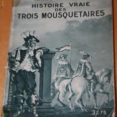 ARMAND PRAVIEL - HISTOIRE VRAIE DES TROIS MOUSQUETAIRES - Carte Istorie