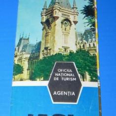 Pliant turistic IASI ONT perioada comunista