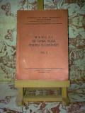 """Manual de limba rusa pentru economisti vol. II """"A2216"""", Limbi straine"""