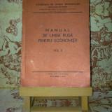 Manual de limba rusa pentru economisti vol. II