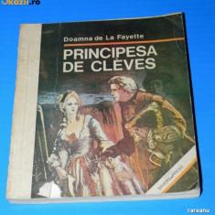 DOAMNA DE LA FAYETTE - PRINCIPESA DE CLEVES (02297 ar - Roman dragoste