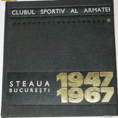 CLUBUL SPORTIV AL ARMATEI STEAUA BUCURESTI 1947-1967. ALBUM ANIVERSAR (6475 - Carte sport