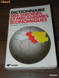 J BREMOND, A GELEDAN - DICTIONNAIRE DES THEORIES ET MECANISMES ECONOMIQUES, Alta editura
