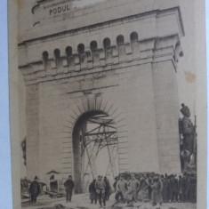 CERNAVODA - PODUL - OCUPATIA GERMANA WWI - MILITARI NEMTI - EDITURA GERMANA - Carte Postala Dobrogea 1904-1918, Necirculata, Fotografie