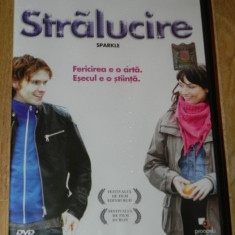 DVD ORIGINAL STRALUCIRE / SPARKLE nou. sigilat - Film drama Altele, Romana