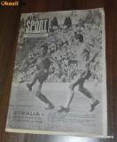 SPORTUL ILUSTRAT - nr 6/1989 - STEAUA BUCURESTI CAMPIOANA ROMANIEI. TITLUL 14