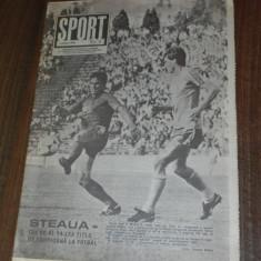 SPORTUL ILUSTRAT - nr 6/1989 - STEAUA BUCURESTI CAMPIOANA ROMANIEI. TITLUL 14 - Carte sport
