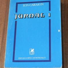 ION CARAION - JURNAL 1 - LITERATURA SI CONTRALITERATURA
