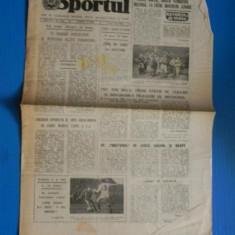 ZIARUL SPORTUL 8 IULIE 1988 - divizionarele A la ora bilantului - Universitatea Craiova (01042