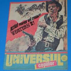 UNIVERSUL COPIILOR -1991 NR 1-2 BENZI DESENATE puiu manu