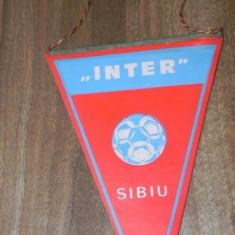 FANION INTER SIBIU ASOCIATIA SPORTIVA INDEPENDENTA - Fanion fotbal