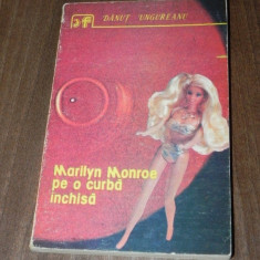 DANUT UNGUREANU - MARILYN MONROE PE O CURBA INCHISA SF 97577 - Carte SF