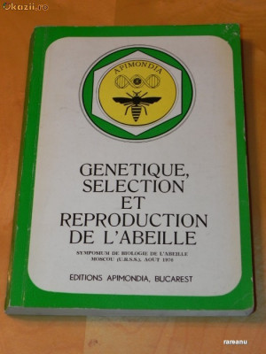 APIMONDIA. GENETIQUE, SELECTION ET REPRODUCTION DE L ALBEILLE foto