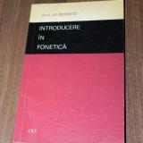 ALEXANDRU ROSETTI - INTRODUCERE IN FONETICA