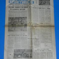 ZIARUL GAZETA SPORTURILOR 1990 NR - 63 - 8 MARTIE DINAMO - PARTIZAN BELGRAD 2-1 CUPA CUPELOR (01022