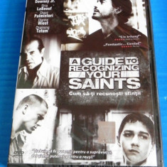 DVD FILM A GUIDE TO RECOGNIZE YOUR SAINTS / CUM SA-TI RECUNOSTI SFINTII. NOU. SIGILAT. SUBTITRARE IN LIMBA ROMANA - Film drama