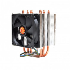 Cooler NOU Tower Thermaltake Contac 21  4 Heatpipes  pt  FM1 FM2 AM2, Am3, Am3+