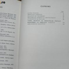 APOSTOL TURBATU, NICOLAE NEAGU - FILATELIA SI TURISMUL. filatelie