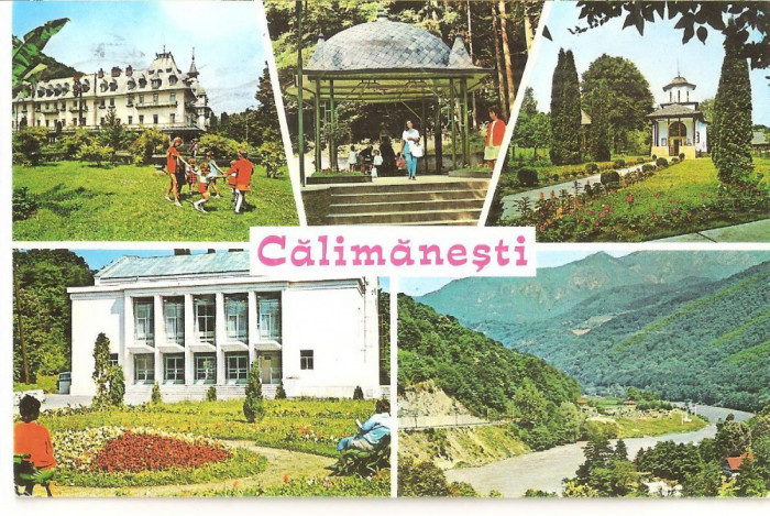 CPI (B5326) CARTE POSTALA - CALIMANESTI, CIRCULATA 1978 foto mare