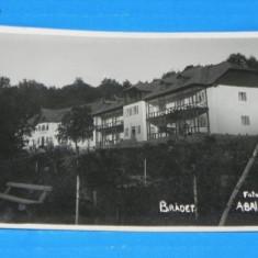 Carte postala fotografie veche BRADET FOTO A BAIAS DIN CURTEA DE ARGES. CIRCULATA 1939. judetul arges. foarte rara (v036 - Carte Postala Muntenia dupa 1918
