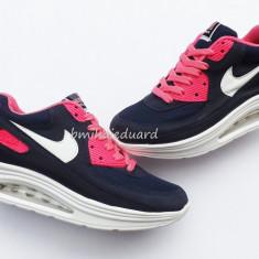 ADIDASI NIKE AIR MAX HYPERFUSE DAMA - Adidasi dama Nike, Culoare: Din imagine, Marime: 39, Textil