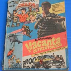 ALMANAHUL VACANTA CUTEZATORILOR 1989 - CONTINE 70 PAGINI BENZI DESENATE ROMANESTI - (00795 - Reviste benzi desenate