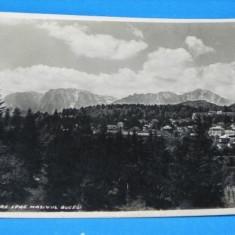 Carte postala VECHE PREDEAL VEDERE SPRE MASIVUL BUCEGI CIRCULATA 1938 . destinatar comandantul strajer al legiunei olt slatina judetul BRASOV (v022 - Carte Postala Transilvania dupa 1918