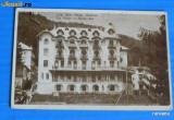 Carte postala veche BAILE SLANIC MOLDOVA VILA PALLAS SI MARIA-ANA. editura albania. necirculata. judetul bacau (v029