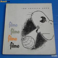 ION POPESCU GOPO - FILME. FILME FILME FILME. CARICATURI. TEXT IN LIMBA GERMANA (00731 - Carte Cinematografie