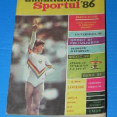 ALMANAHUL SPORTUL 1986