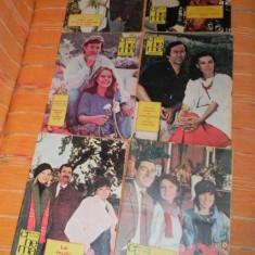 Lot 10 REVISTE CINEMA - DIVERSE NUMERE 1988 -1989 - Carte Cinematografie