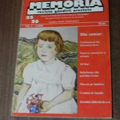 MEMORIA - REVISTA GANDIRII ARESTATE NR 55-56, 2-3/2006 - Biografie