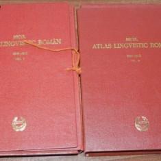 MICUL ATLAS LINGVISTIC ROMAN - PARTEA A 2-A ALRM. SERIE NOUA VOL 2-3