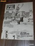 Revista SPORTUL ILUSTRAT nr 6/1981  UNIVERSITATEA CRAIOVA   AL TREILEA TITLU