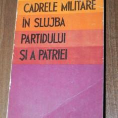 CADRELE MILITARE IN SLUJBA PARTIDULUI SI A PATRIEI, Alta editura