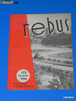 REVISTA REBUS 1964 NR 172 - NECOMPLETATA (00548 foto