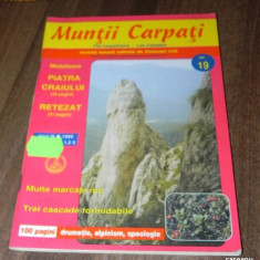REVISTA MUNTII CARPATI - NR 19 / 1999 - Carte Geografie