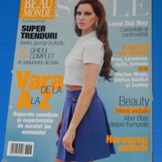 REVISTA BEAU MONDE STYLE - NR 7-8 / 2013 (00639 - Revista femei